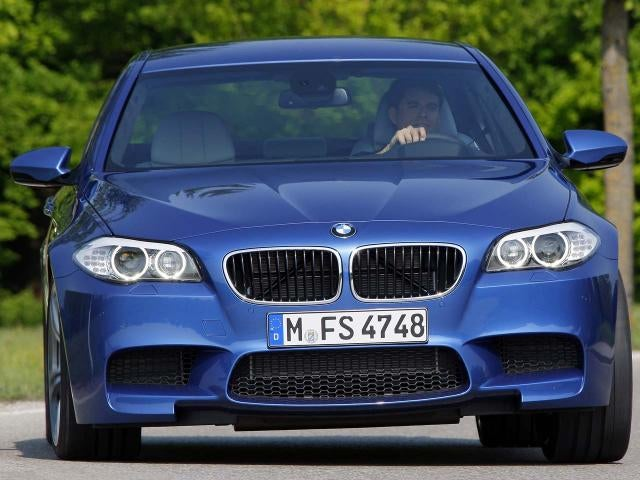 2012 BMW M5: First Photos