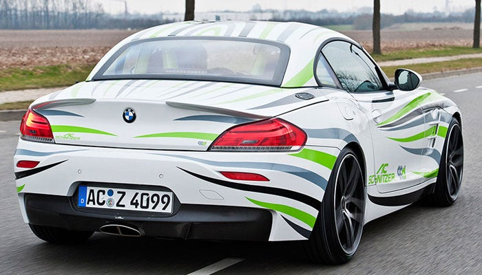 Tuner drops diesel into BMW Z4 for 63 mpg sports car