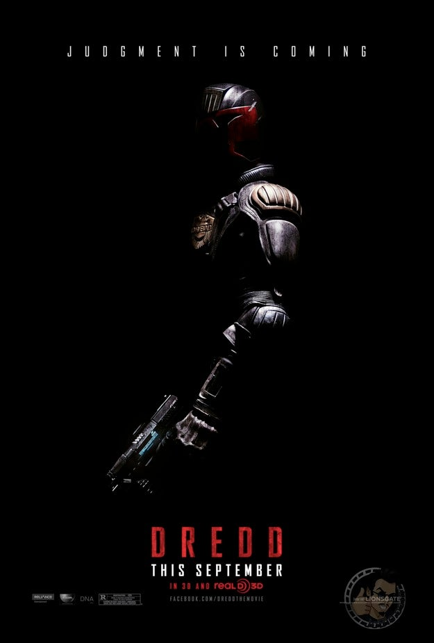 Dredd Poster and Pictures