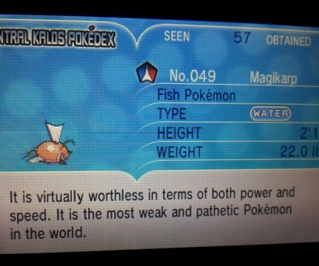 An Ode To Magikarp, The Saddest Pokémon Of All
