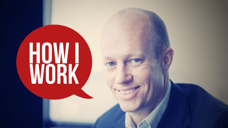 I'm Jason Pontin, Editor in Chief and Publisher of MIT Technology Review, and This Is How I Work