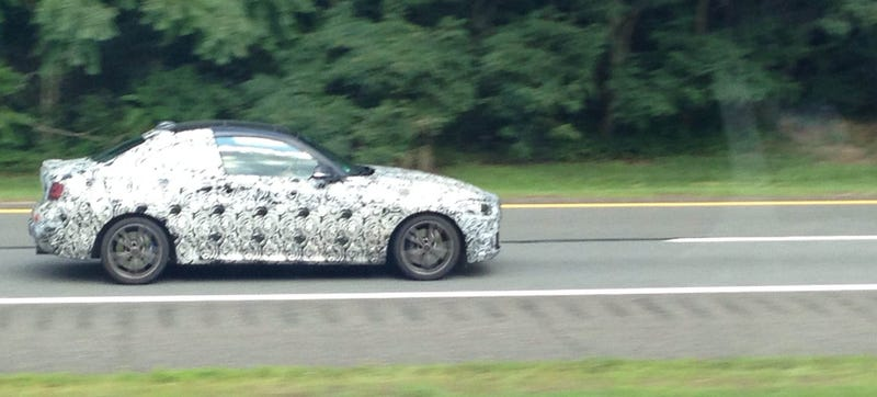 Is A 2016 BMW M2 Prototype Bombing Around New Jersey?