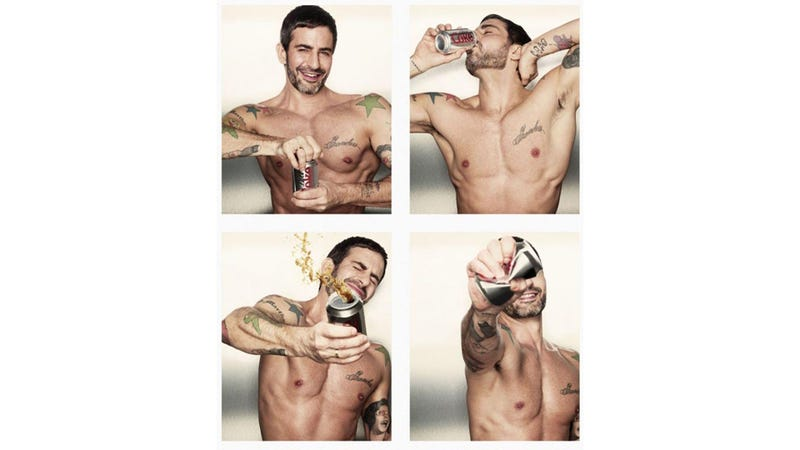 Marc Jacobs' Abs Are the New Creative Director for Diet Coke