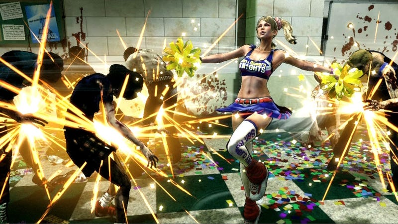 Eyes-On with Lollipop Chainsaw and Juliet the Overly Chipper Zombie Slayer
