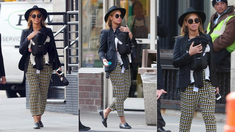 Beyoncé Is a Crazy-Pants Hipster Mommy