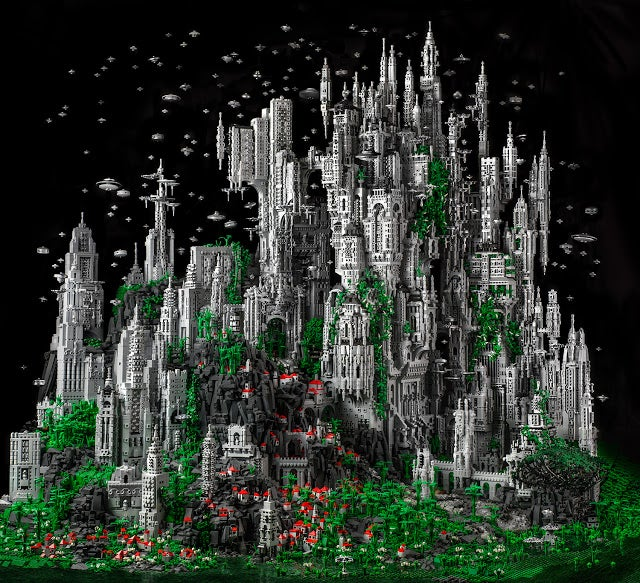 Crowdfund a futuristic model city made of LEGO and documentary about an island's mysterious hum