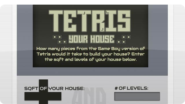 How Many Tetris Pieces Would You Need To Build a House?