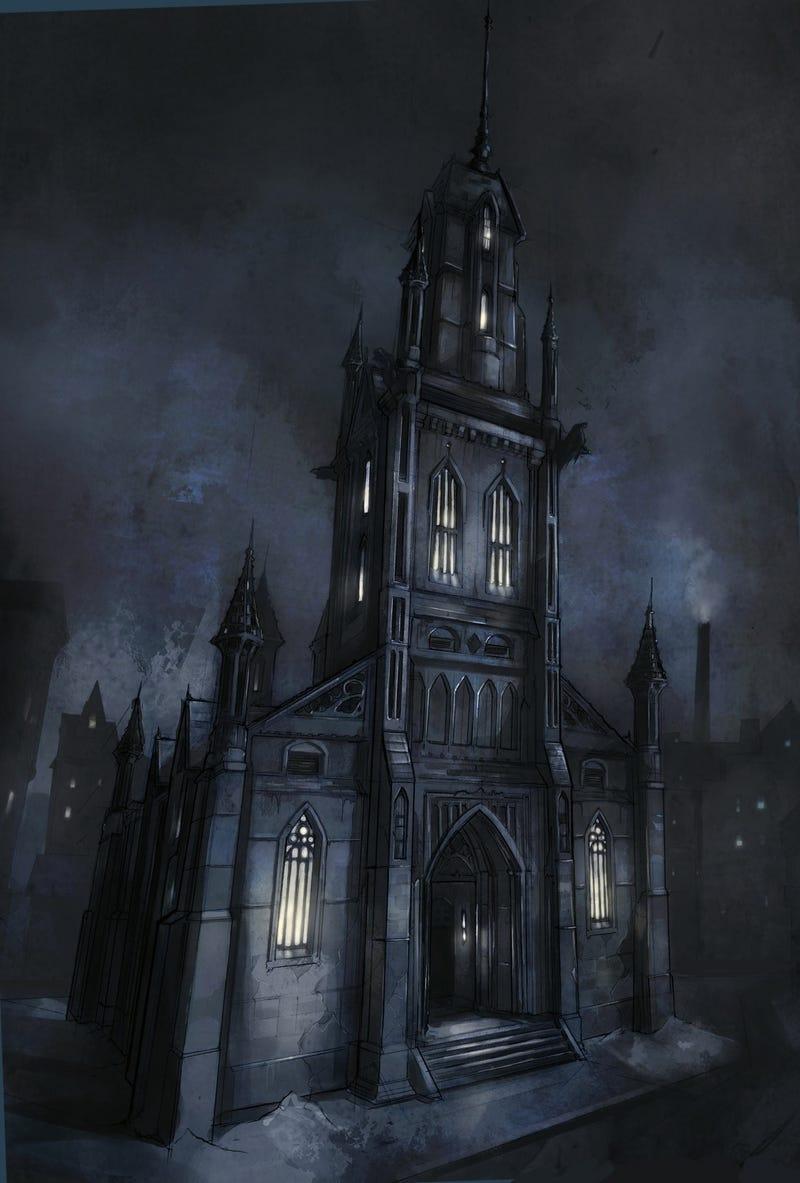 Where Does Batman Get All This Wonderful Concept Art?