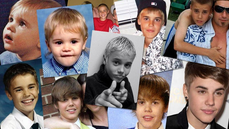 The First 18 Years of Justin Bieber, The Boy Who Exited the Womb a Pop Star