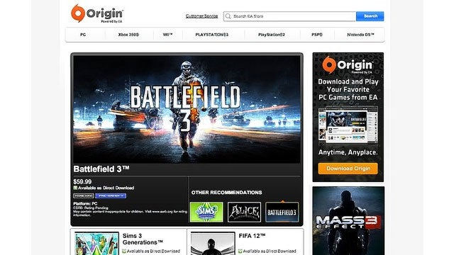 EA is Launching Its Own Steam Competitor