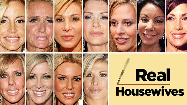A Guide to the Fake Faces of Real Housewives