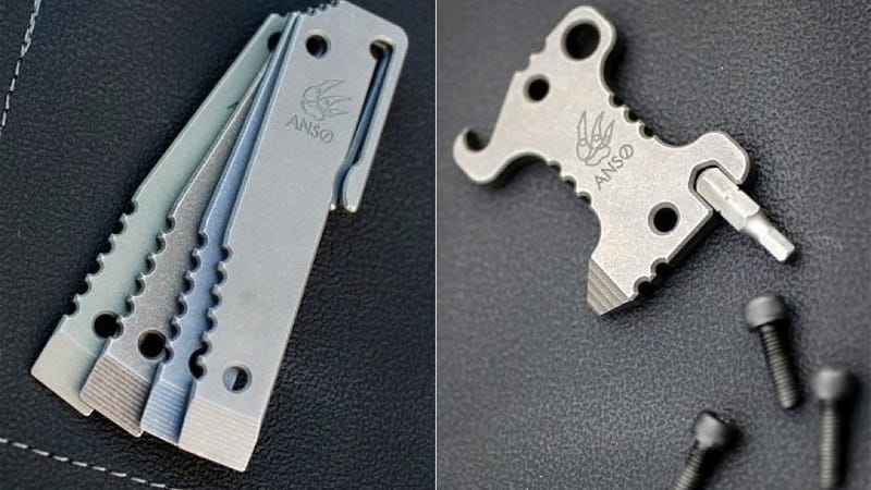 These Keychain Multi-Tools Prove That Nothing Is Cooler Than Milled Titanium