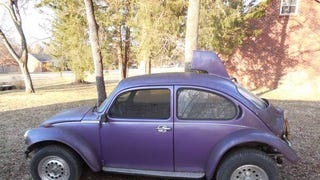 "CL: Purple 1974 ""Super Beetle BAHA"" has a Mohawk"