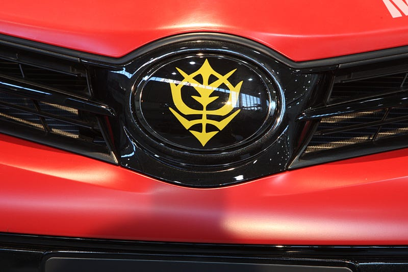 Toyota Is Making a Gundam Car. You Can Buy It.