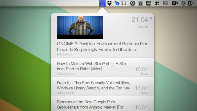 FreshFeed Is an Easy-Access RSS Feed Reader for Your Mac OS X Menubar