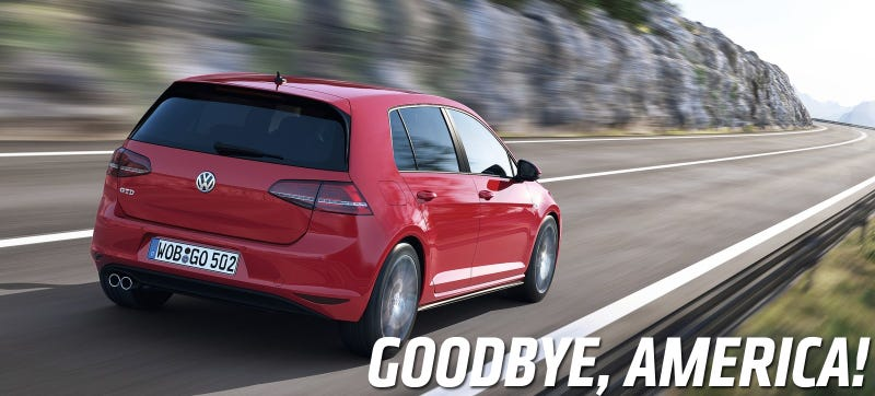 Crap, America Might Not Get The Volkswagen GTD After All
