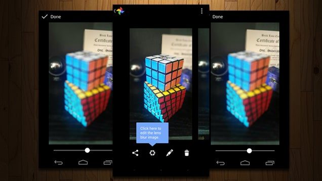 Edit the Focus of Lens Blur Photos After the Fact in Google Camera