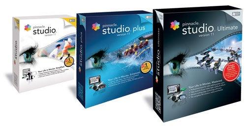 Pinnacle Studio 11 Video Editing Software Announced in Three Flavors