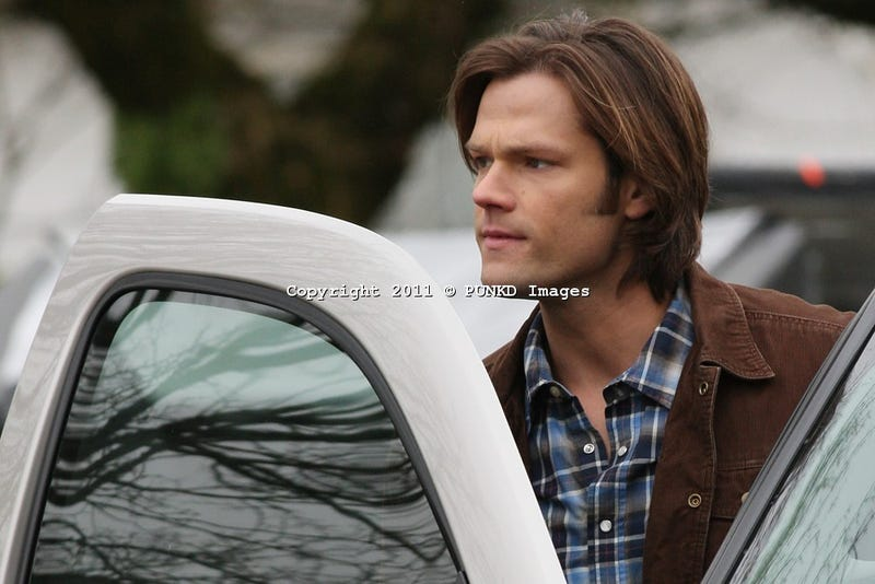 Supernatural behind the scenes pics