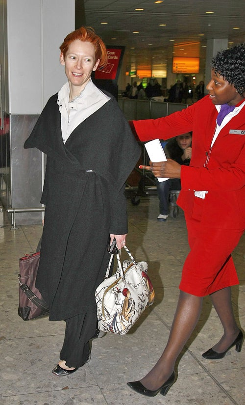 May I Help You With Your Bag, Ms. Swinton?