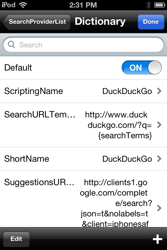 How to Add a New Default Search Engine to Safari on the iPhone