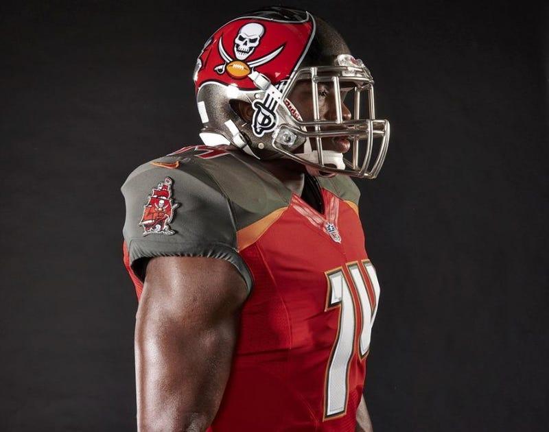 Tampa Bay Buccaneers Unveil New Uniforms [Update]