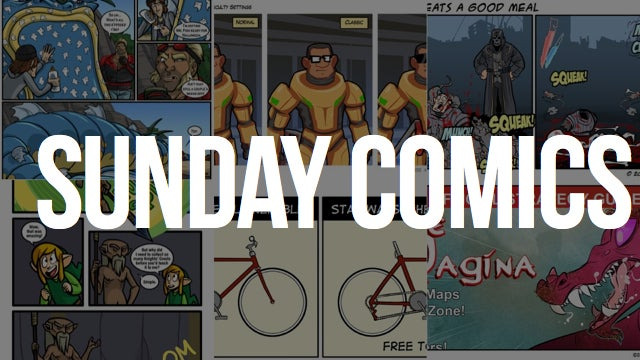 Sunday Comics: You Can't Look It Up on GameFAQs, Either