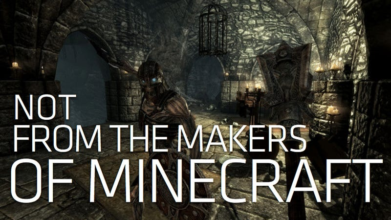 Bethesda Sics Lawyers on Minecraft Makers Over Scrolls Name, Skyrim Confusion