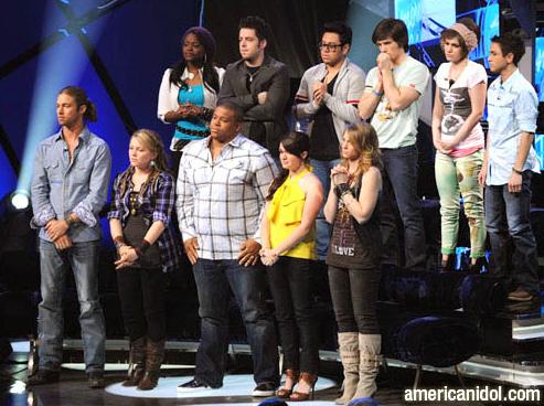 Live Blogging American Idol, Season Nine: Top 11 Perform