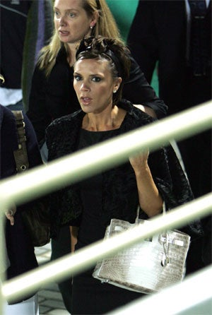Posh Spice Carries Blinged-Out Birkin; Grace Kelly Rolls In Grave