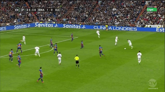 Here's Gareth Bale's Laser Golazo