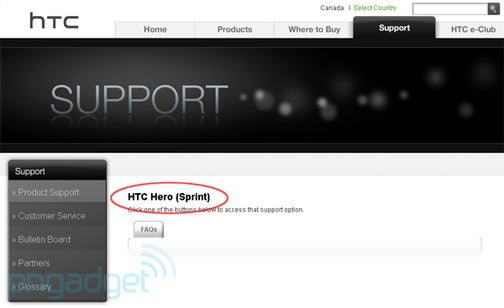 HTC Hero Coming To Sprint