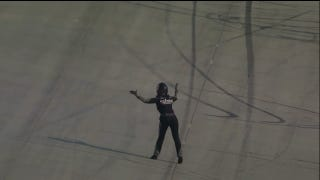 NASCAR Driver Wrecks, Goes Out On The Track To Yell At Somebody