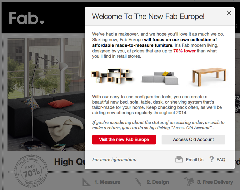 Fab.com Basically Shuts Down in Europe