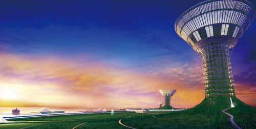 Floating City in the Sky Brings You Closer to the Heavens