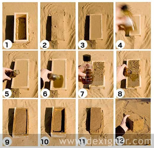 Bio-Manufactured Bricks Are Made at Room Temperature, From Bacteria, Sand and Urine