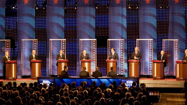Live Coverage of the First Republican Presidential Debate