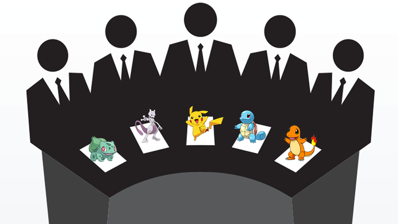 A Committee Of Five People Decides Which Pokémon Live And Which Die