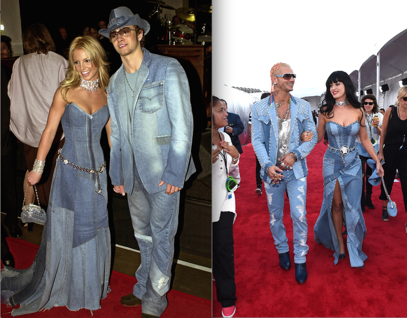 Katy Perry and Riff Raff Pull a Britney and Justin in Denim-On-Denim