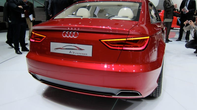 Audi A3 Concept is the sedan you'll hate to love