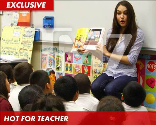 Parents Upset Porn Star Sasha Grey Read a Book to Children