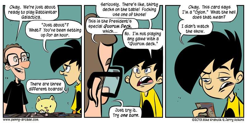 Sunday Comics: Playing Tags