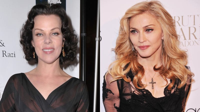 Debi Mazar Put Lipstick On Madonna's Face in 1987