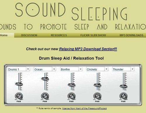 Sound Sleeping Helps You Mix Custom Sleep Tracks