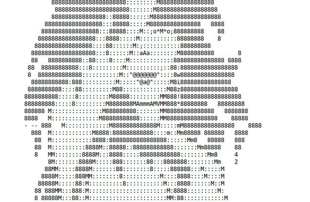 the rise and fall  and rise  of ascii art