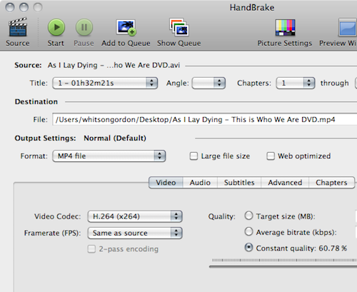 HandBrake Updates to 0.9.4 with Over 1,000 Changes, 64-Bit Support