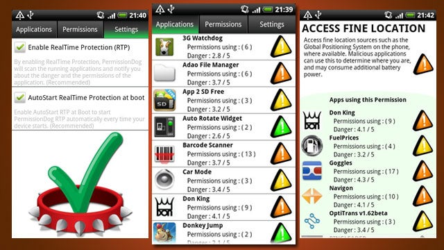 PermissionDog Displays Your Android Apps' Permissions, Shows How Dangerous They Are
