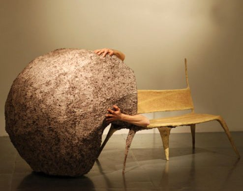 Nacho Carbonell's Mutant Furniture