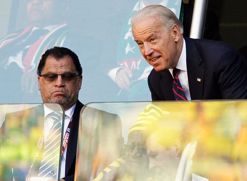 Joe Biden Visits World Cup