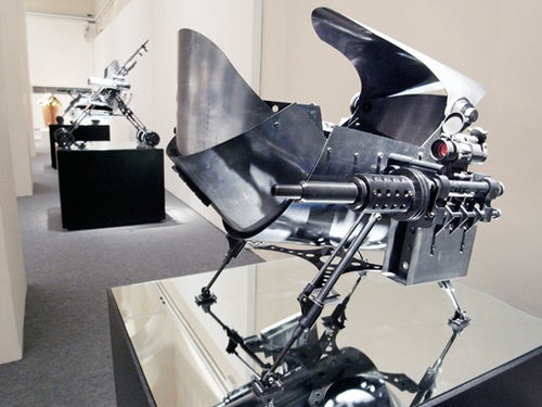 Intimidating-As-Hell Baby Carriages Are Straight Out of Terminator